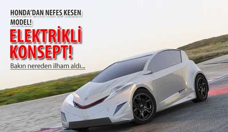İşte Honda'nın göz dolduran o modeli!