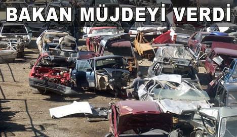 2 milyon araç hurdaya ayrılacak