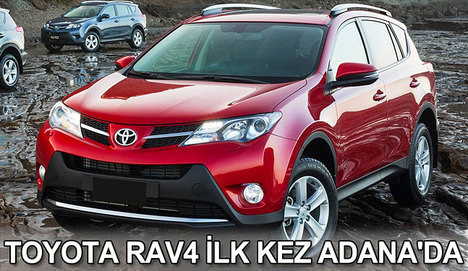 Toyota RAV4 ilk kez Adana'da