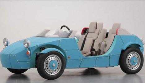 'Çocuklara özel otomobil'