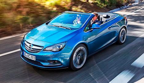 Opel Cascada Convertible büyüledi