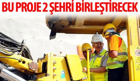 İzmir - Manisa otoyolu iki şehri birleştirecek