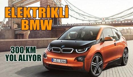 BMW elektrikli i3'ünü tanıttı