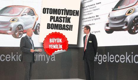 Otomotivden plastik bombası