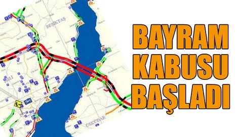 İstanbul'un trafik kabusu!