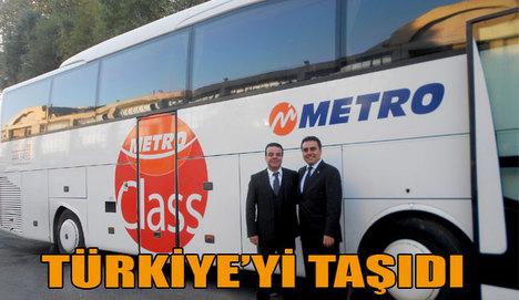 Metro, Türkiye'yi taşıdı