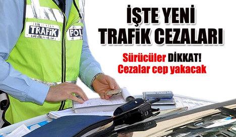 Trafik cezaları değişiyor!