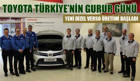 Toyota Türkiye'den Verso 1.6 D-4D