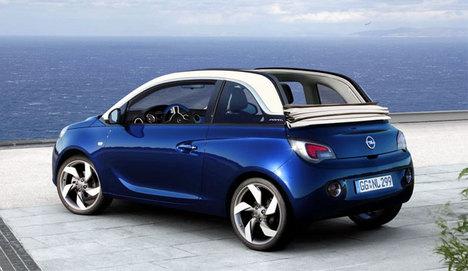Opel Adam Cabrio Cenevre'de