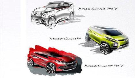 Mitsubishi Cenevre'ye 3 konseptle girecek