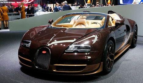 İşte fuarın en pahalı otomobili