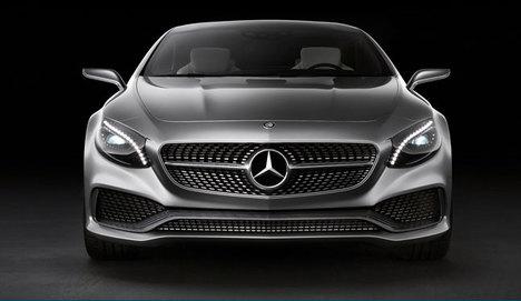 Mercedes S-Coupe Yıldızlar Liginde