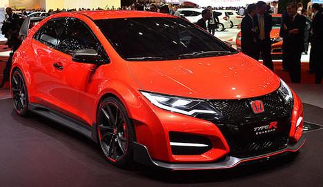 Honda Civic Type R Concept tanıtıldı