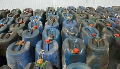 5 milyon TL'lik kaçak akaryakıt vurgunu