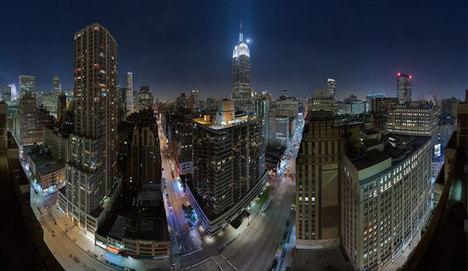 Mustang, Empire State'in çatısına çıkacak