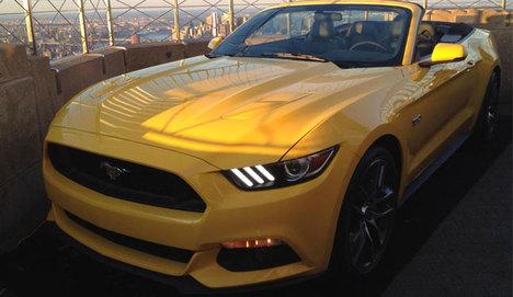 Yeni Mustang, Empire State'te görücüye çıktı