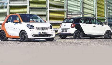 Smart'ın yeni ikizleri 2016'yı bekleyecek