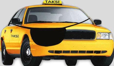 6 bin lira kazanan korsan taksici