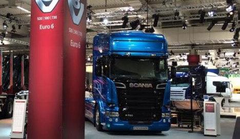 Scania, IAA Fuarı'nda En Yeni Motorlarını Tanıttı