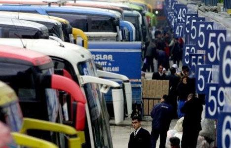 Otobüs biletleri tükendi, 6 bin ek sefer konuldu