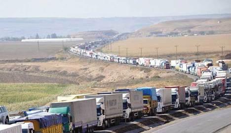 Türk şoförlere İran zulmü