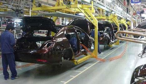Çin otomotiv üretiminde ABD'ye 2 kat fark attı