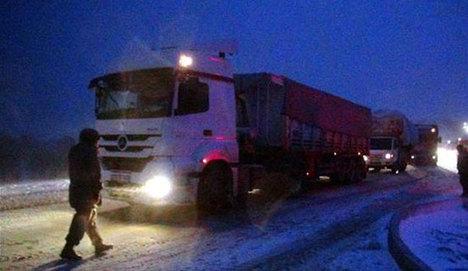 Ankara yolu 6 saat kapalı kaldı