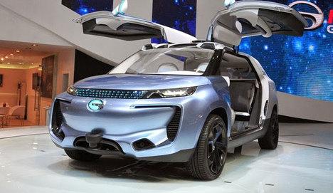 Çinliler otonom teknolojisine sahip otomobil yaptı