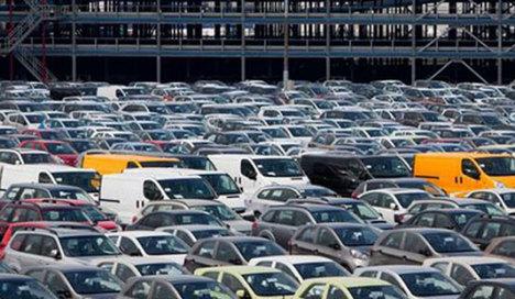 Avrupa Birliği'nde araç kayıtları %5,7 arttı