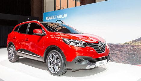 Renault Cenevre fuarında