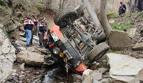 Off-road gezisinde feci kaza:3 ölü