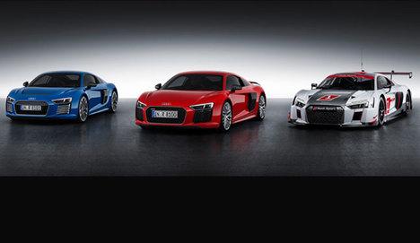 Spor otomobillerin öncüsü Yeni Audi R8 Cenevre'de