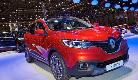 Renault Kadjar Cenevre'de görücüye çıktı