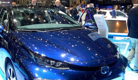Toyota, Cenevre'de göz doldurdu
