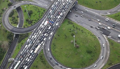 İstanbul trafik sıkışıklığında dünya birincisi