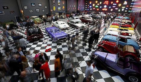 Klasik otomobil koleksiyonu müze oldu