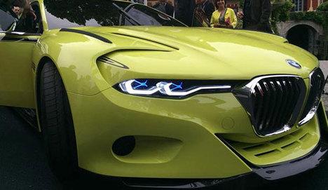 BMW Frankfurt Fuarı'nda gövde gösterisi yapacak