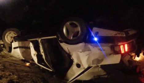 Gölbaşı'nda otomobil TIR'a çarptı: 5 ölü