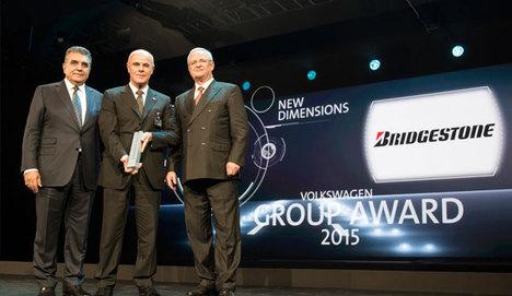 Bridgestone, Volkswagen grup ödülünü kazandı