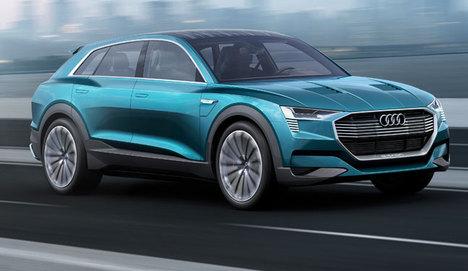Audi'den Frankfurt'ta bir konsept 2 yeni model!