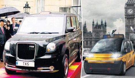 Türk taksiyi Çin çarptı