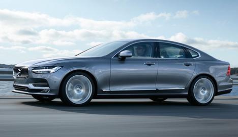 Volvo'nun yeni sedanı S90 görücüye çıktı