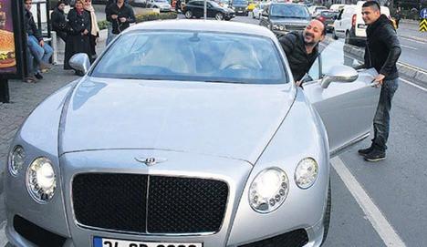 İşte Tolga Çevik'in Bentley'i!