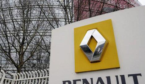 Renault'ta işçiler eylemde