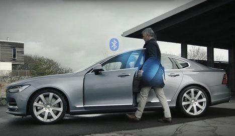 Volvo'dan akıllı kilit teknolojisi!