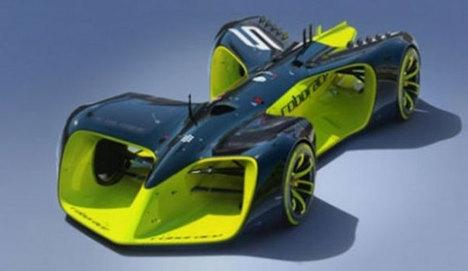 Robocar: Dünyanın ilk sürücüsüz elektrikli yarış otomobili