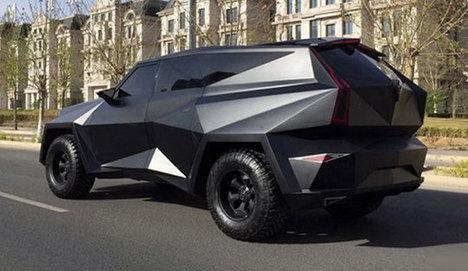 Çin'den sıra dışı SUV konsepti