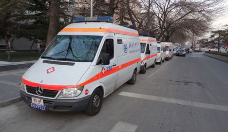 Çin'de ambulanslara taksimetre uygulaması
