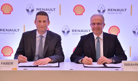 Renault ve Shell anlaştı!
