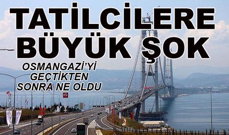 Osmangazi'ye geçtiler, şoke oldular!